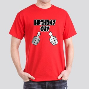 Birthday Guy Dark T Shirt